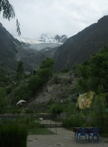 First view of Rakaposhi (7790m)