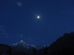 The mountains and the moon - timeless beauty!