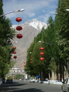 Streetscape of Tashkurgan