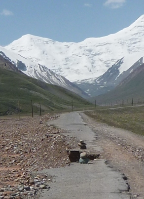 Yep, THIS is the Pamir Highway!