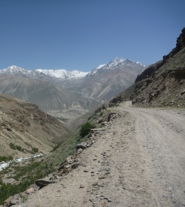 "One of the ""smaller"" side valleys on the way to Langar."