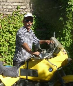 Sam, my geneous host and new-found friend in Tabriz