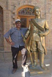 Sam withSattar Khan, local Tabriz hero