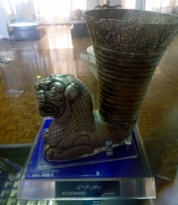 Solid silver drinking goblet from the Achaemenid period - circa 600BC