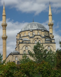 A mini Sultanahmet mosque outside Kirikkale