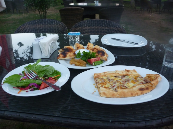 Fantastic food for a fraction of the cost in Western hotels.